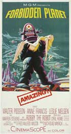 Forbidden Planet - 14 x 36 Movie Poster - Insert Style B