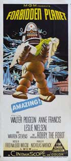 Forbidden Planet - 13 x 30 Movie Poster - Australian Style A