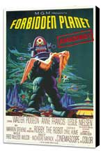 Forbidden Planet - 11 x 17 Movie Poster - Style A - Museum Wrapped Canvas