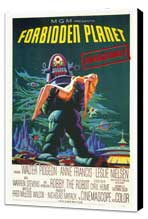Forbidden Planet - 27 x 40 Movie Poster - Style A - Museum Wrapped Canvas