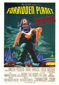 Forbidden Planet - 43 x 62 Movie Poster - Bus Shelter Style A