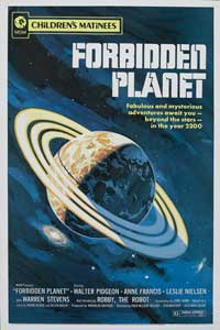 Forbidden Planet - 43 x 62 Movie Poster - Bus Shelter Style B