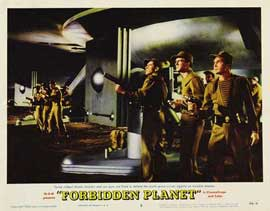 Forbidden Planet - 11 x 14 Movie Poster - Style I