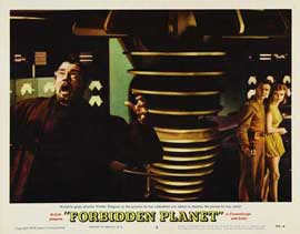 Forbidden Planet - 11 x 14 Movie Poster - Style K