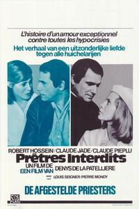 Forbidden Priests - 27 x 40 Movie Poster - Belgian Style A