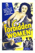 Forbidden Women - 27 x 40 Movie Poster - Style A