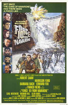 Force 10 from Navarone - 11 x 17 Movie Poster - Style A