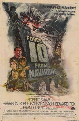 Force 10 from Navarone - 11 x 17 Movie Poster - Style C