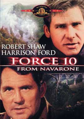Force 10 from Navarone - 11 x 17 Movie Poster - Style D