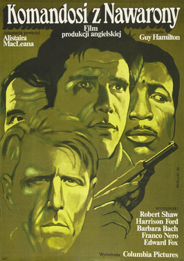 Force 10 from Navarone - 11 x 17 Movie Poster - Polish Style A