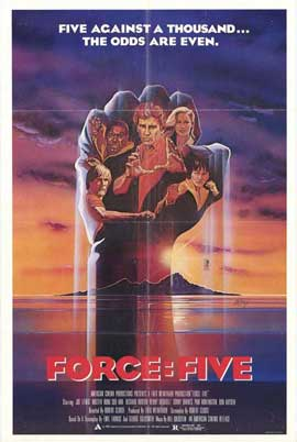 Force: Five - 27 x 40 Movie Poster - Style A