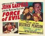 Force of Evil - 27 x 40 Movie Poster - Style B