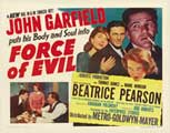 Force of Evil - 22 x 28 Movie Poster - Half Sheet Style A