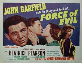 Force of Evil - 22 x 28 Movie Poster - Half Sheet Style B
