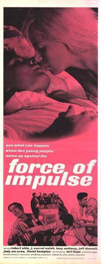 Force of Impulse - 14 x 36 Movie Poster - Insert Style A