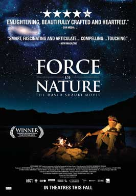 Force of Nature: The David Suzuki Movie - 27 x 40 Movie Poster - Style A