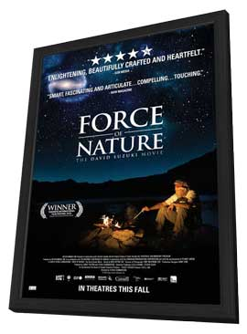 Force of Nature: The David Suzuki Movie - 11 x 17 Movie Poster - Style A - in Deluxe Wood Frame
