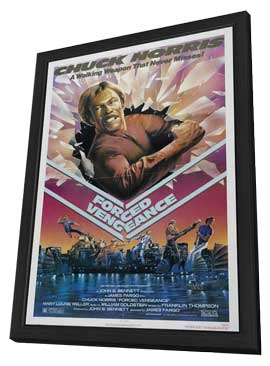 Forced Vengeance - 27 x 40 Movie Poster - Style A - in Deluxe Wood Frame