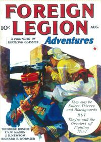 Foreign Legion Adventures (Pulp) - 11 x 17 Pulp Poster - Style A