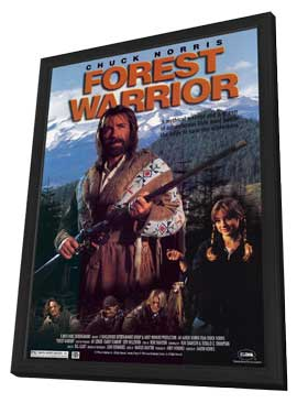 Forest Warrior - 11 x 17 Movie Poster - Style A - in Deluxe Wood Frame