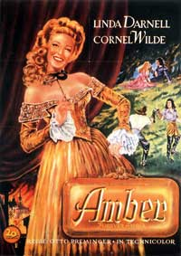Forever Amber - 11 x 17 Movie Poster - Style B