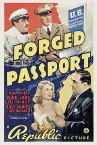 Forged Passport - 11 x 17 Movie Poster - Style A