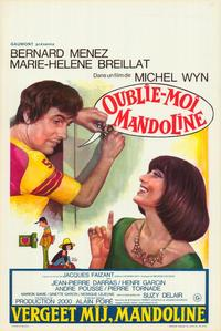 Forget Me, Mandoline - 11 x 17 Movie Poster - Belgian Style A