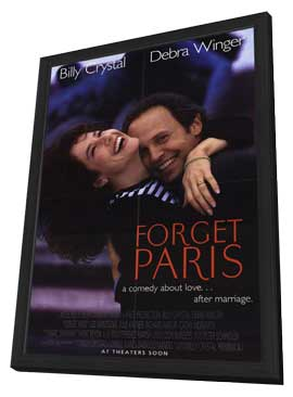 Forget Paris - 11 x 17 Movie Poster - Style A - in Deluxe Wood Frame
