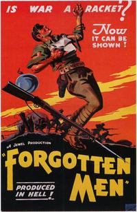 Forgotten Men - 11 x 17 Movie Poster - Style A