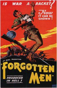 Forgotten Men - 43 x 62 Movie Poster - Bus Shelter Style A