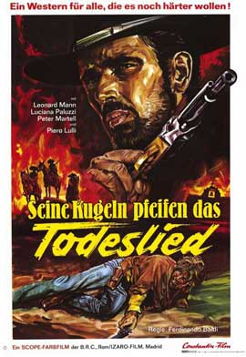 Forgotten Pistolero - 11 x 17 Movie Poster - German Style A
