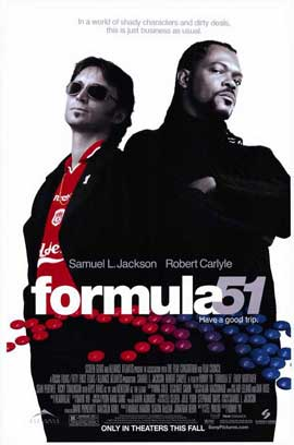 Formula 51 - 27 x 40 Movie Poster - Style A
