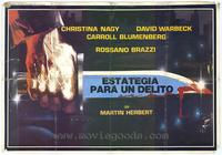 Formula for a Murder - 27 x 40 Movie Poster - Spanish Style A