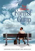 Forrest Gump - 27 x 40 Movie Poster - German Style A