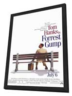 Forrest Gump - 11 x 17 Movie Poster - Style A - in Deluxe Wood Frame