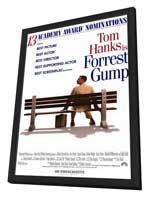 Forrest Gump - 11 x 17 Movie Poster - Style C - in Deluxe Wood Frame
