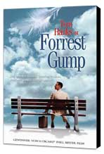 Forrest Gump - 11 x 17 Movie Poster - German Style A - Museum Wrapped Canvas