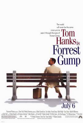 Forrest Gump - 27 x 40 Movie Poster - Style A