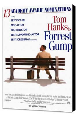 Forrest Gump - 11 x 17 Movie Poster - Style C - Museum Wrapped Canvas