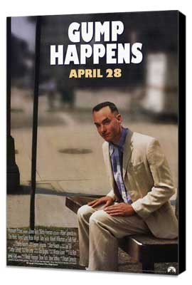 Forrest Gump - 27 x 40 Movie Poster - Style B - Museum Wrapped Canvas