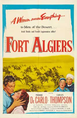 Fort Algiers - 11 x 17 Movie Poster - Style C