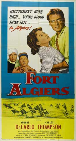 Fort Algiers - 20 x 40 Movie Poster - Style A