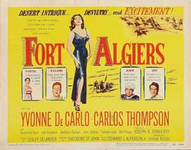 Fort Algiers - 11 x 14 Movie Poster - Style A