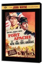 Fort Apache - 11 x 17 Movie Poster - Style B - Museum Wrapped Canvas