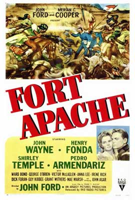 Fort Apache - 27 x 40 Movie Poster - Style A