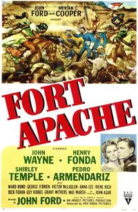 Fort Apache - 43 x 62 Movie Poster - Bus Shelter Style A