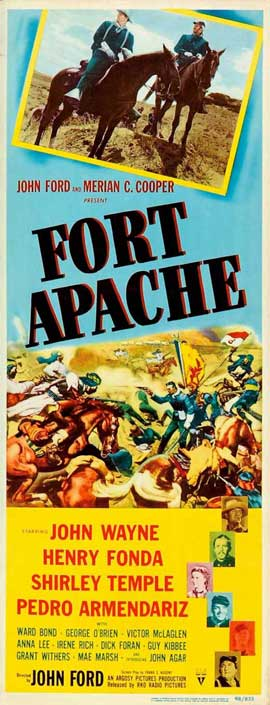 Fort Apache - 14 x 36 Movie Poster - Insert Style A