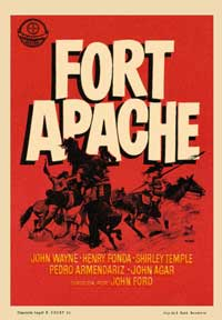 Fort Apache - 11 x 17 Movie Poster - Spanish Style C