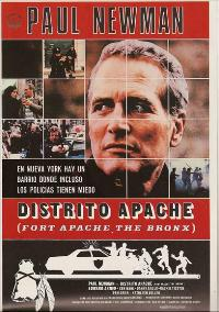 Fort Apache, the Bronx - 11 x 17 Movie Poster - Spanish Style A