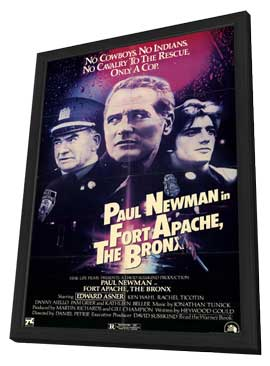 Fort Apache, the Bronx - 11 x 17 Movie Poster - Style A - in Deluxe Wood Frame